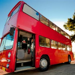 Our red bus